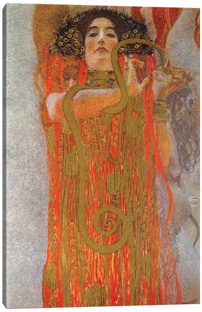 Hygieia, 1900-07 Canvas Art Print