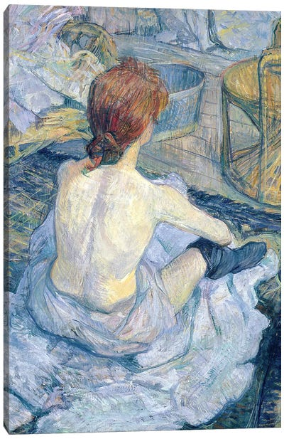 Woman At Her Toilet, 1896 Canvas Art Print