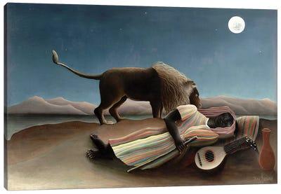 The Sleeping Gypsy, 1897 Canvas Art Print