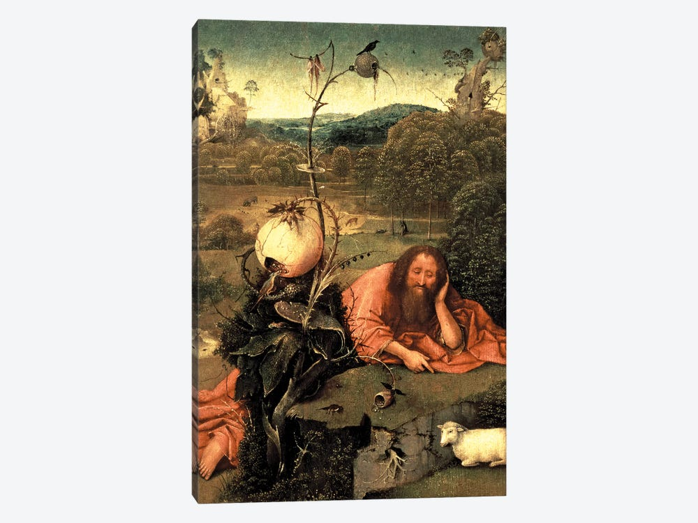 St. John The Baptist In Meditation by Hieronymus Bosch 1-piece Art Print