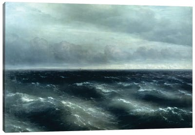 The Black Sea, 1881 Canvas Art Print
