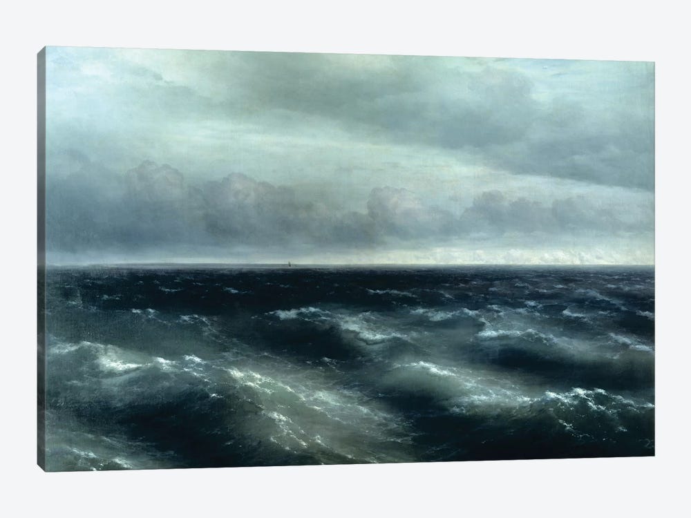 The Black Sea, 1881 by Ivan Aivazovsky 1-piece Art Print