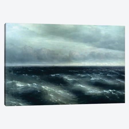 The Black Sea, 1881 Canvas Print #BMN7109} by Ivan Aivazovsky Canvas Art Print