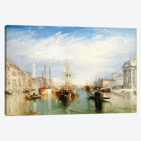 Venice, From The Porch Of Madonna della Salute, c.1835 Canvas Print #BMN7116} by J.M.W. Turner Art Print