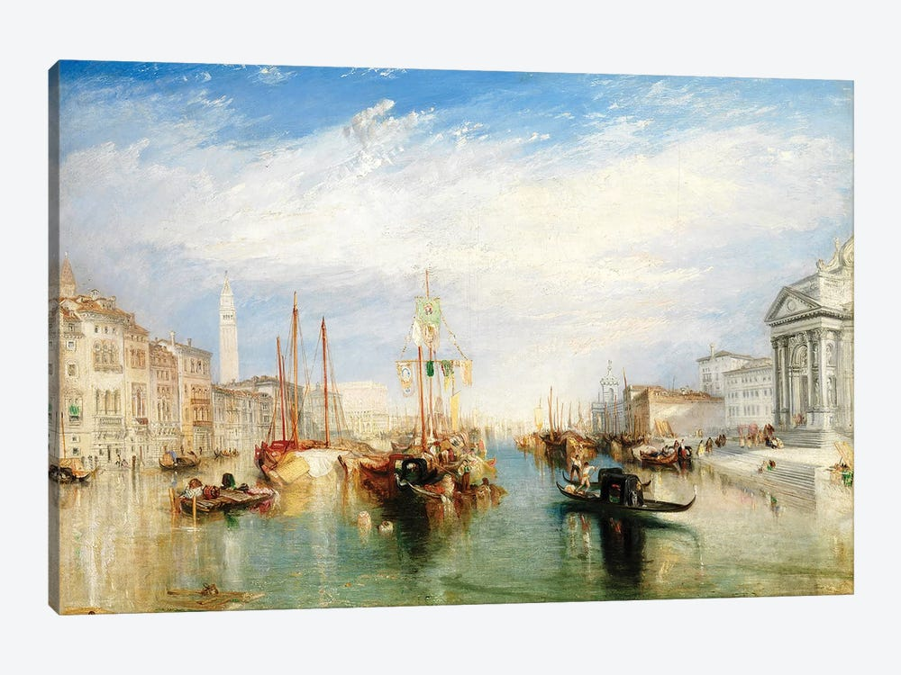 Venice, From The Porch Of Madonna della Salute, c.1835 by J.M.W. Turner 1-piece Art Print