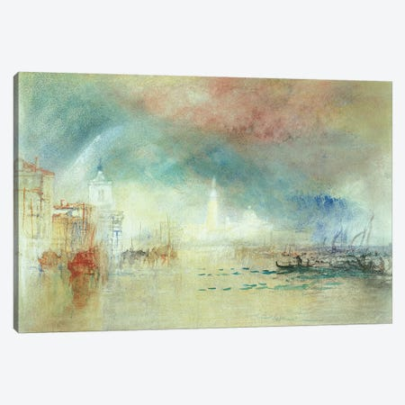 View Of Venice From La Giudecca Canvas Print #BMN7117} by J.M.W. Turner Canvas Art Print