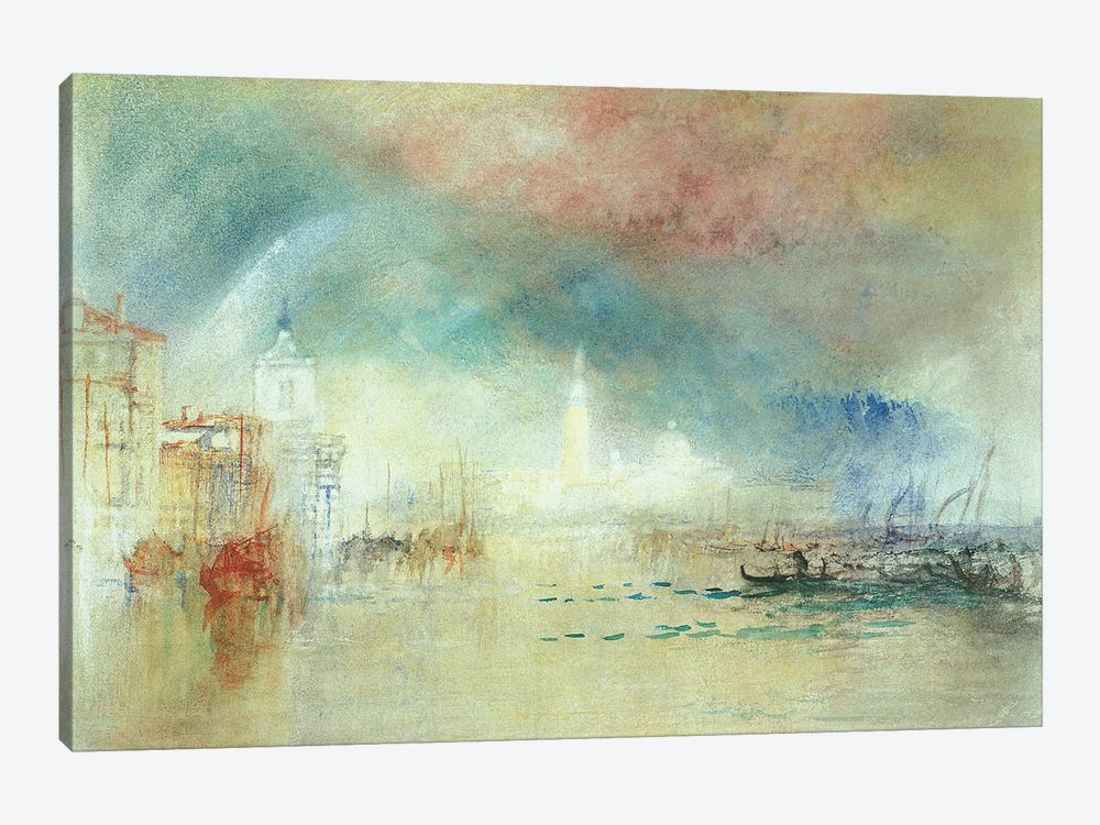 View Of Venice From La Giudecca by J.M.W. Turner 1-piece Canvas Wall Art