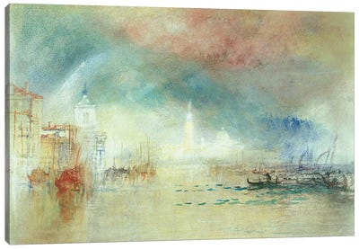 View Of Venice From La Giudecca Canvas Art Print