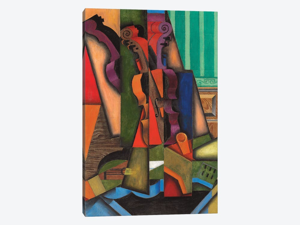 Violin And Guitar, 1913 by Juan Gris 1-piece Canvas Print