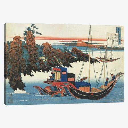 Chunagon Yakamochi, c.1839 Canvas Print #BMN7145} by Katsushika Hokusai Canvas Artwork