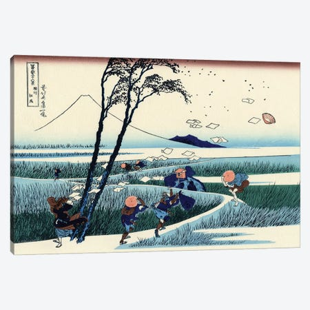 Ejiri In The Suruga Province, c.1830 Canvas Print #BMN7146} by Katsushika Hokusai Canvas Artwork