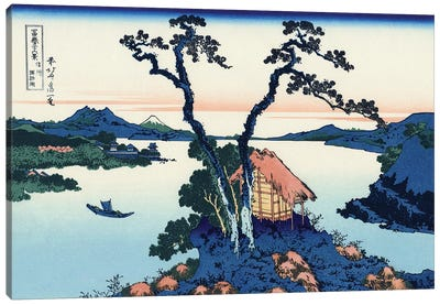 Lake Suwa In The Shinano Province, c.1830 Canvas Art Print