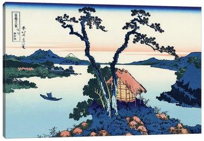 Lake Suwa In The Shinano Province, c.1830 Canvas Art Print