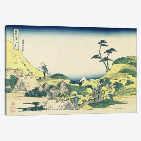 Lower Meguro, 1831-34 Canvas Print #BMN7154} by Katsushika Hokusai Canvas Art Print