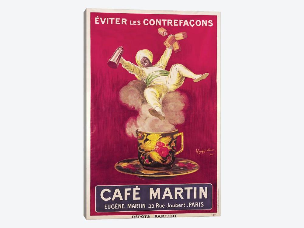 Café Martin Coffee Advertisement, 1921 by Leonetto Cappiello 1-piece Canvas Art