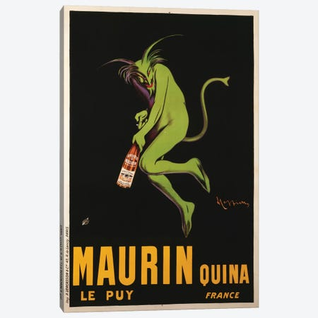 Maurin Quina Advertisement, c.1922 3-Piece Canvas #BMN7163} by Leonetto Cappiello Canvas Print