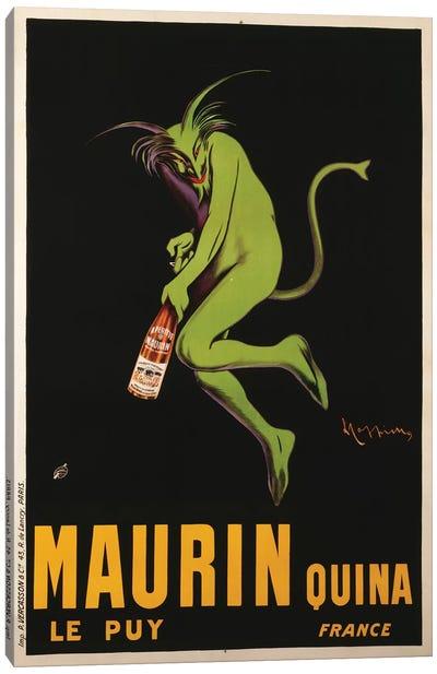 Maurin Quina Advertisement, c.1922 Canvas Art Print
