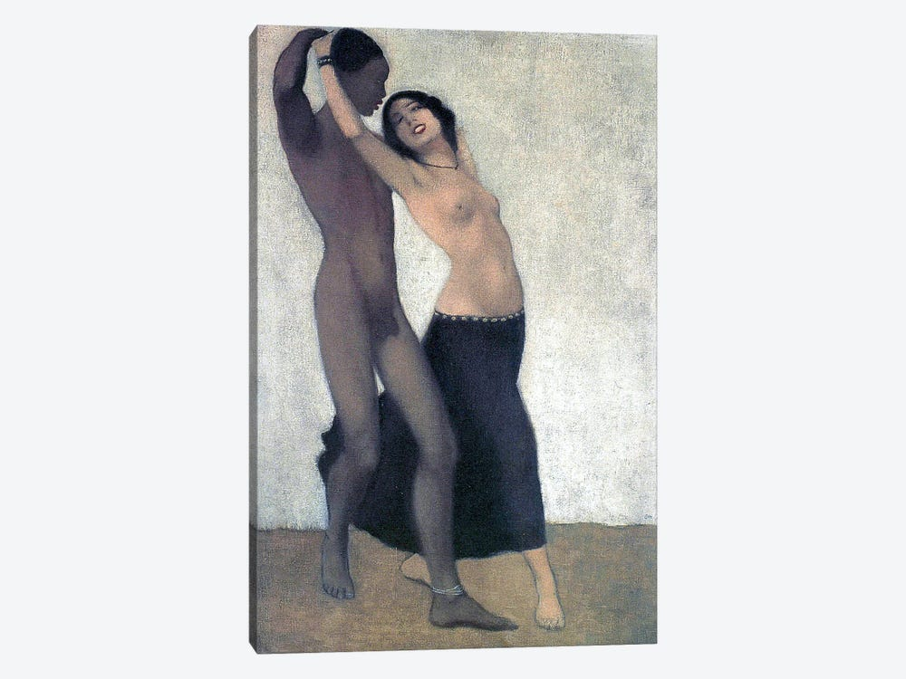 An Afro-European Couple Of Dancers, c.1903 by Otto Muller 1-piece Art Print