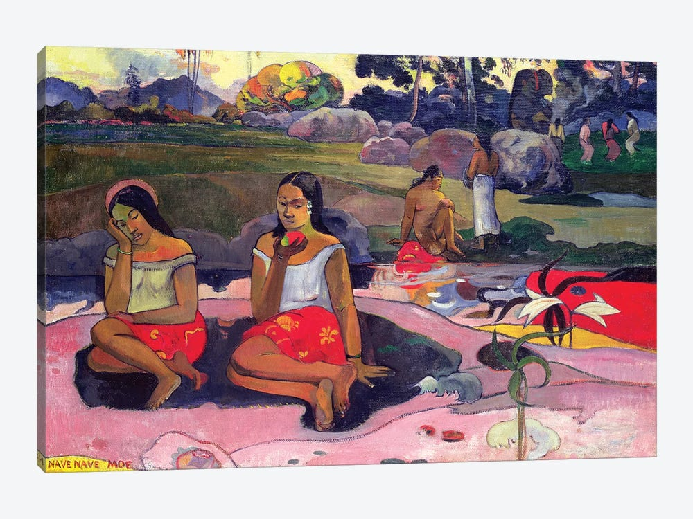 Nave Nave Moe (Sacred Spring), 1894 by Paul Gauguin 1-piece Canvas Artwork