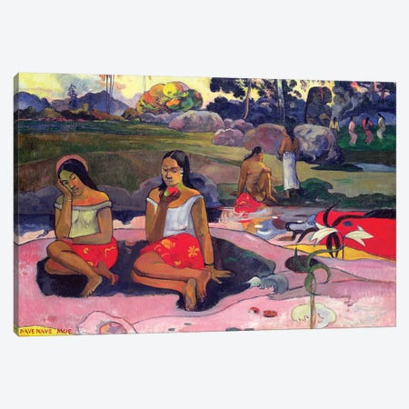 Nave Nave Moe (Sacred Spring), 1894 Canvas Print #BMN7168} by Paul Gauguin Canvas Art Print