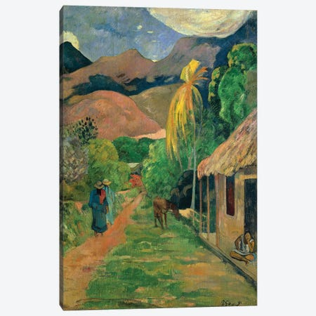 Spain, Toledo, Rue de Tahiti, 1891 Canvas Print #BMN7170} by Paul Gauguin Canvas Wall Art