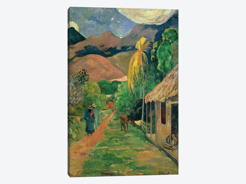 Spain, Toledo, Rue de Tahiti, 1891 by Paul Gauguin 1-piece Canvas Print