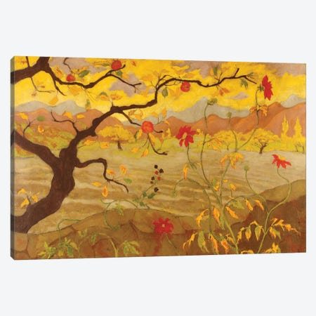 Pommier aux Fruits Rouges, c.1902 Canvas Print #BMN7171} by Paul Ranson Canvas Artwork