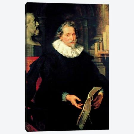 Portrait Of Ludovicus Nonnius, c.1627 Canvas Print #BMN7175} by Peter Paul Rubens Canvas Print