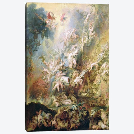 The Fall Of The Damned Canvas Print #BMN7178} by Peter Paul Rubens Canvas Art