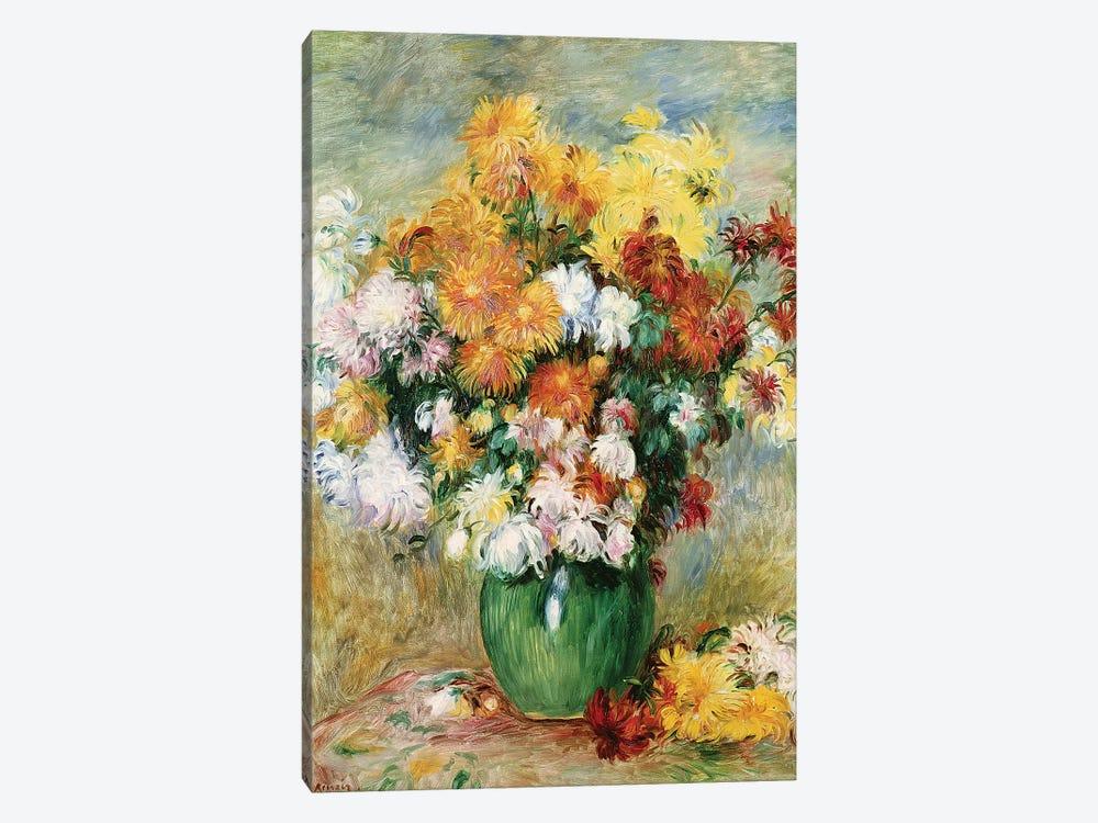 Bouquet Of Chrysanthemums, c.1884 by Pierre-Auguste Renoir 1-piece Canvas Print