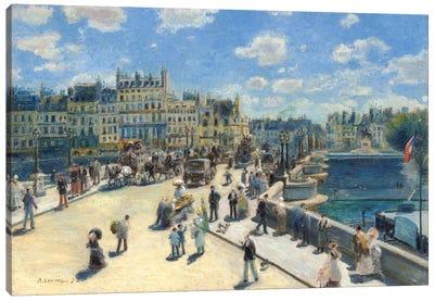 Pont Neuf, Paris, 1872 Canvas Art Print