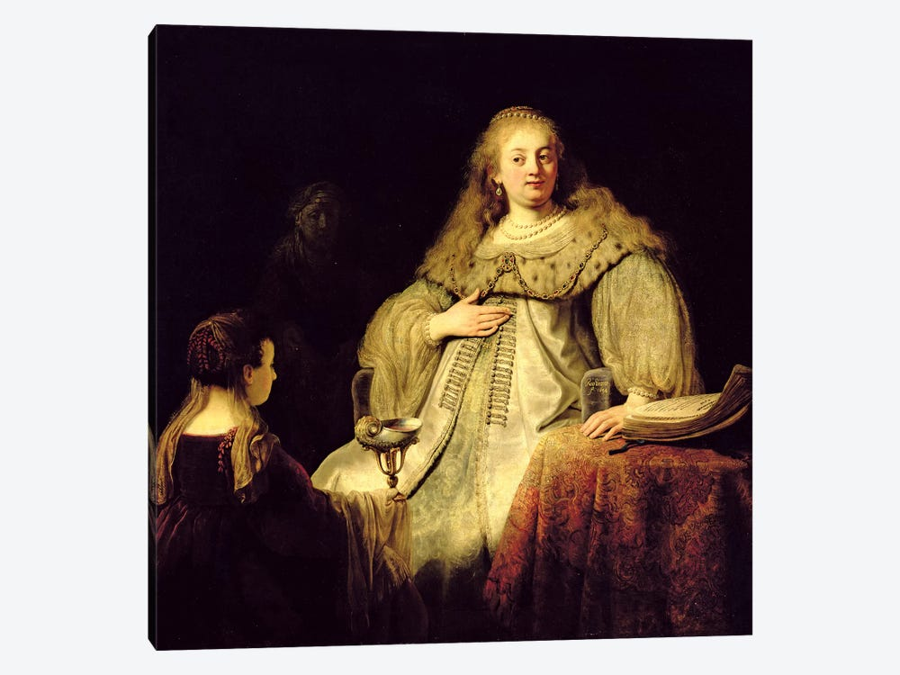 Artemisia, 1634 by Rembrandt van Rijn 1-piece Canvas Wall Art