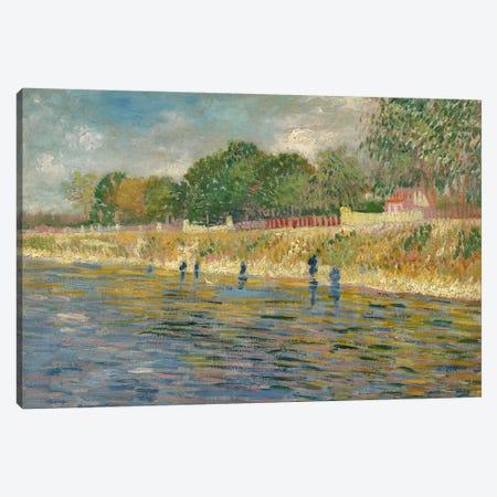 Bank Of The Seine, 1887 Canvas Print #BMN7205} by Vincent van Gogh Art Print