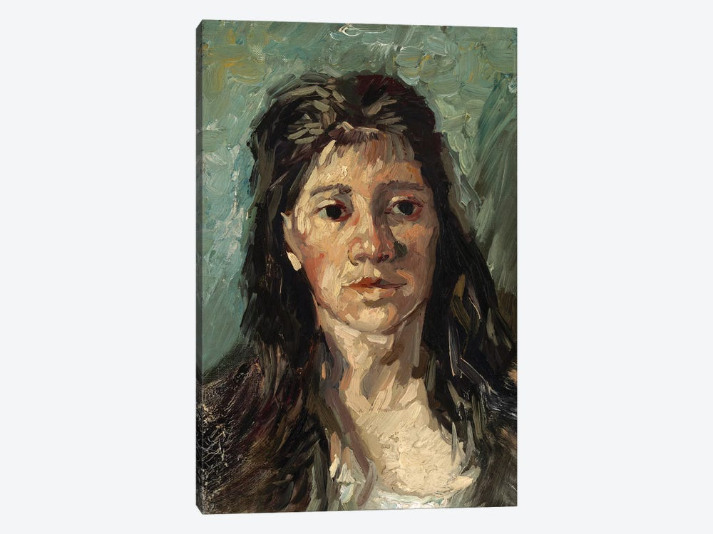 Head Of A Prostitute, 1885 by Vincent van Gogh 1-piece Canvas Art