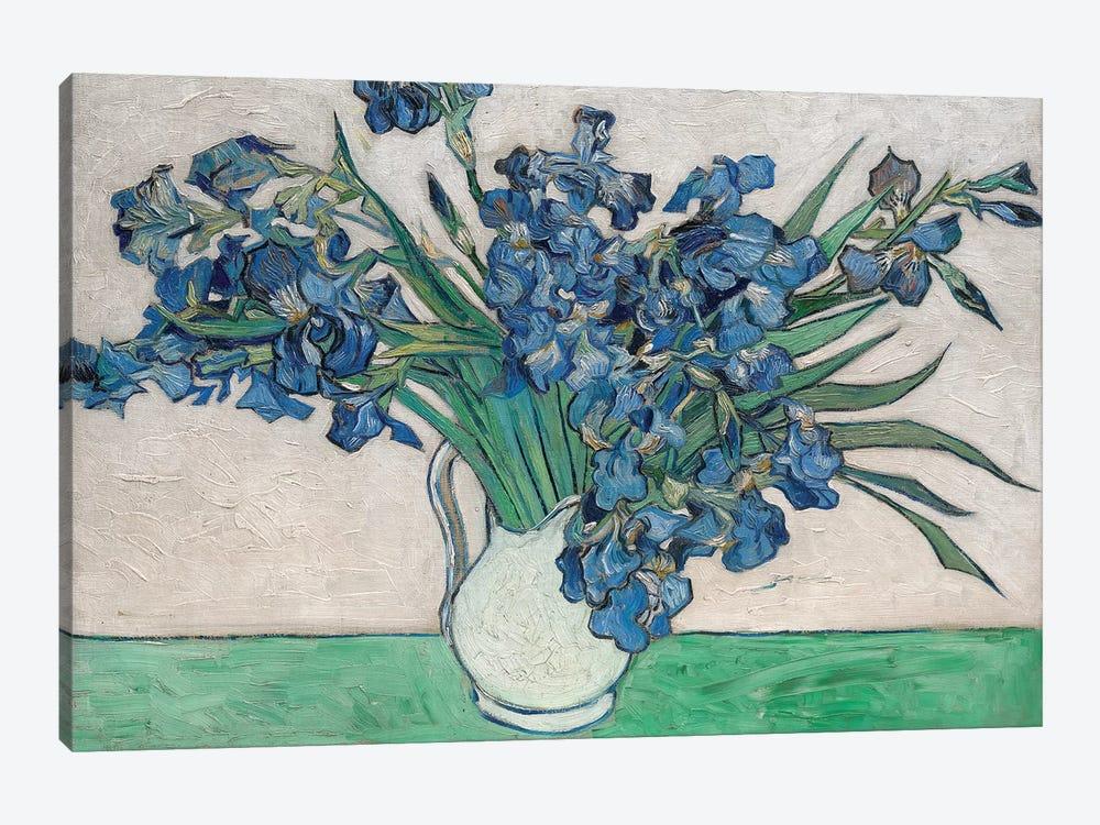 Irises, 1890 by Vincent van Gogh 1-piece Canvas Art