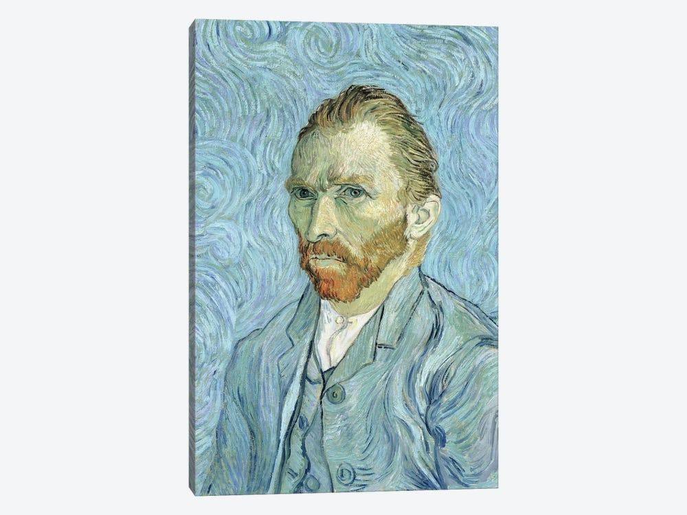 Self Portrait, September 1889 by Vincent van Gogh 1-piece Canvas Art