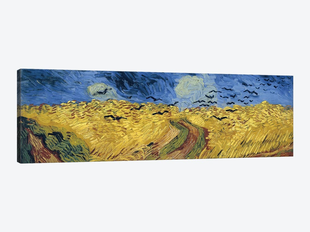 Wheatfield With Crows, 1890 by Vincent van Gogh 1-piece Canvas Art