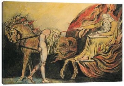 God Judging Adam, c.1795 Canvas Art Print