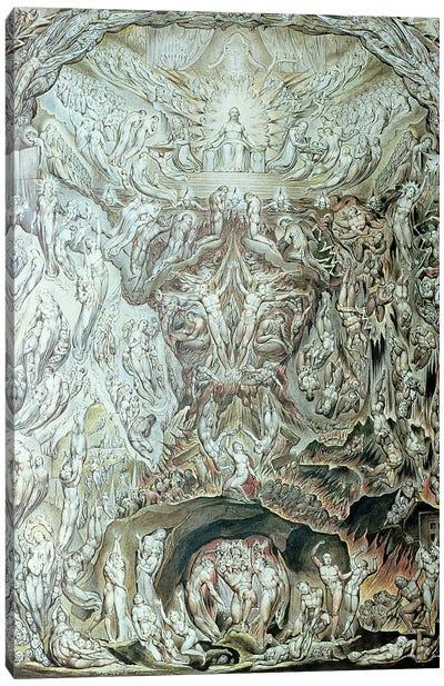 A Vision Of The Last Judgement Canvas Art Print