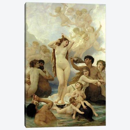 The Birth Of Venus, 1879 Canvas Print #BMN7244} by William-Adolphe Bouguereau Art Print