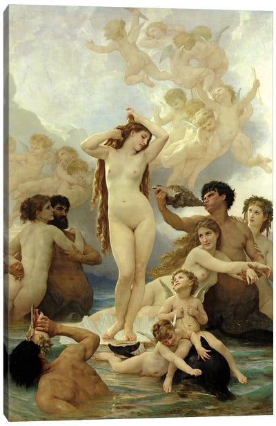 The Birth Of Venus, 1879 Canvas Art Print