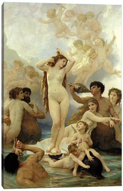 The Birth Of Venus, 1879 Canvas Art Print
