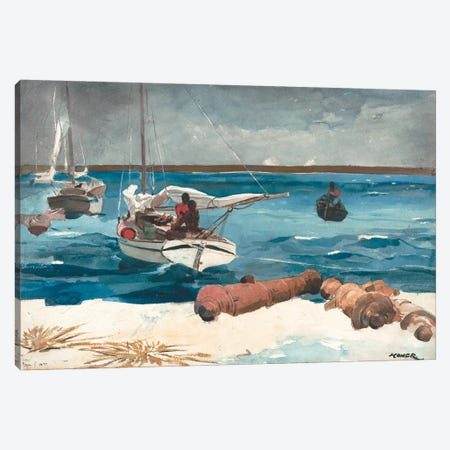 Nassau, 1899 Canvas Print #BMN7248} by Winslow Homer Canvas Artwork