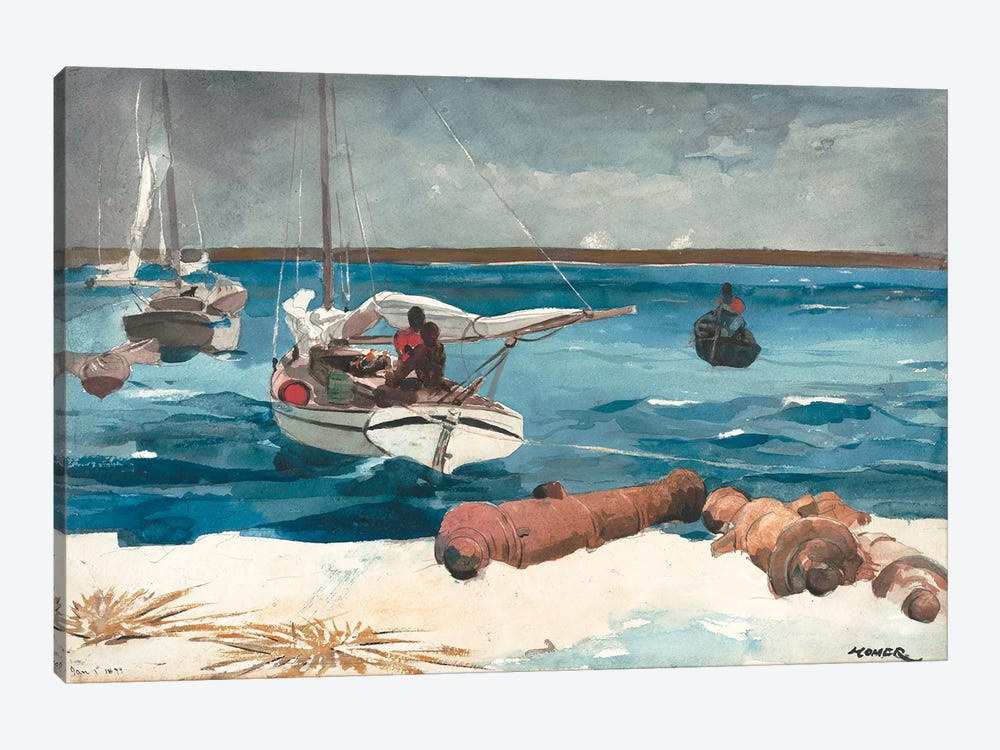 Nassau, 1899 by Winslow Homer 1-piece Canvas Art