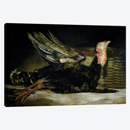 Still Life, c.1808-12  Canvas Print #BMN724} by Francisco Goya Canvas Wall Art