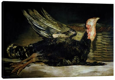 Still Life, c.1808-12  Canvas Art Print