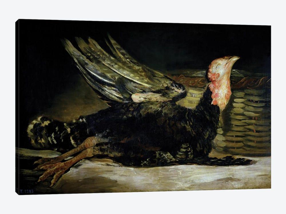 Still Life, c.1808-12  by Francisco Goya 1-piece Canvas Wall Art