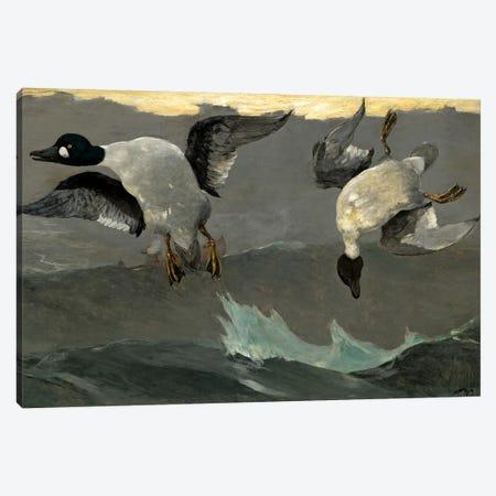 Right & Left, 1909 Canvas Print #BMN7250} by Winslow Homer Art Print