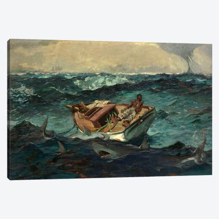The Gulf Stream, 1899 Canvas Print #BMN7252} by Winslow Homer Canvas Print
