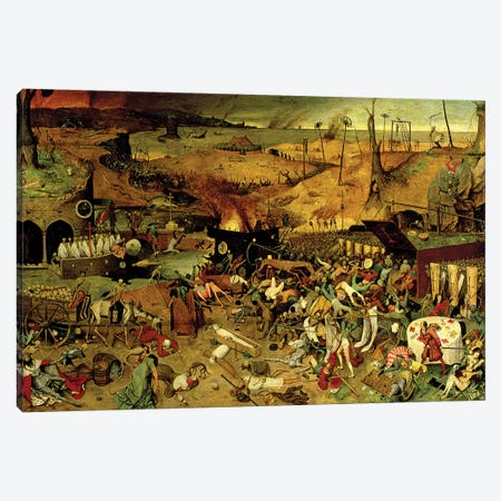 The Triumph Of Death, c.1562 Canvas Print #BMN7253} by Pieter Bruegel Canvas Art Print